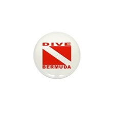 Dive Bermuda Mini Button (100 pack)