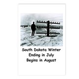 Winter in South Dakota Postcards (Package of 8)