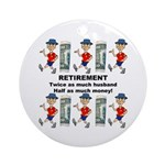 Retirement Ornament (Round)
