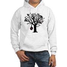 Musical Birds in Tree 1 rot Hang Hoodie