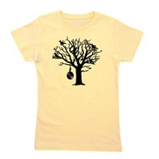 Musical Birds in Tree 1 rot Hangman Vin Girl's Tee
