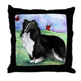 Sheltie Shetland Sheepdog Throw Pillow