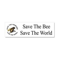 Save The Bee Car Magnet 10 X 3