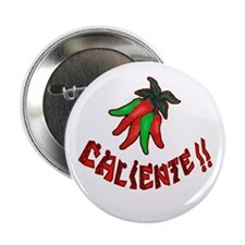 Caliente Chili Peppers Button