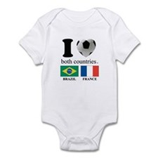 BRAZIL-FRANCE Infant Bodysuit