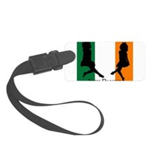 Irish Dancer (Flag) Luggage Tag