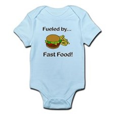 Fueled by Fast Food Infant Bodysuit