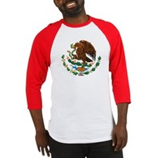 Mexico Coat Of Arms Baseball Jersey