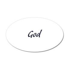 God Wall Decal