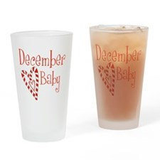 December Baby Drinking Glass