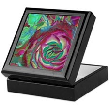 Wild Colors Rose Keepsake Box