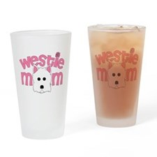Westie Mom Drinking Glass