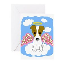 Jack Russell Angel Greeting Cards (Pk of 10)