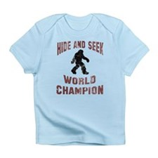 Bigfoot Hide and Seek Infant T-Shirt