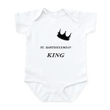 St. Barthelemian King Infant Bodysuit