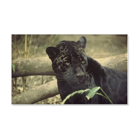 Black Jaguar 20x12 Wall Decal