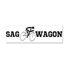 Cute Bike ride Car Magnet 10 x 3