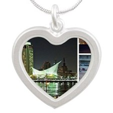 01_Kobe Silver Heart Necklace