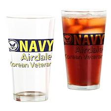 U. S. Navy Airdale Drinking Glass