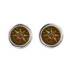 Harvest Moons Mariners Star Cufflinks
