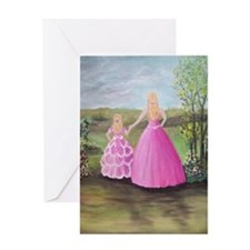 My Daughter, My Little Princess Greeting Card