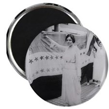 Suffrage Hero Alice Paul Magnets