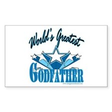 Super Godfather Rectangle Decal