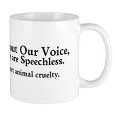 &Quot;Report Animal Cruelty&Quot; Small Mug