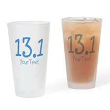 Customize BLUE 13.1 Drinking Glass