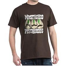 Mustachio Pistachios T-Shirt