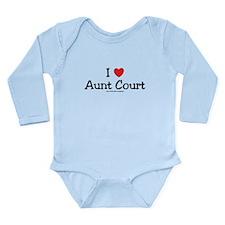 I Love My Aunt Brooke Long Sleeve Infant Bodysuit