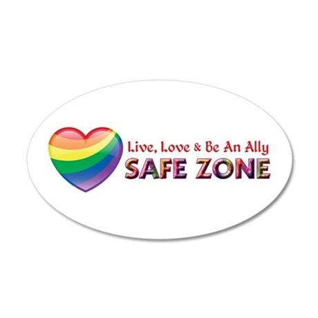 Safe Zone - Ally Wall Decal