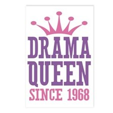 Drama Queen Since 1968 Postcards (Package of 8)