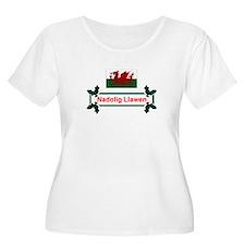 Wales Nadolig Llawen T-Shirt