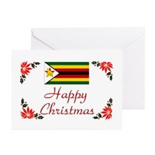 Zimbabwe Happy Christmas Greeting Cards (Pk 10)