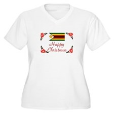 Zimbabwe Happy Christmas T-Shirt