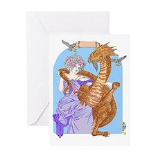Happy Dragon Greeting Card