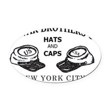 Spiwak Brothers Co. Oval Car Magnet