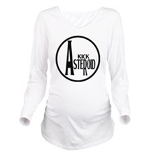 Kick Asteroid Long Sleeve Maternity T-Shirt