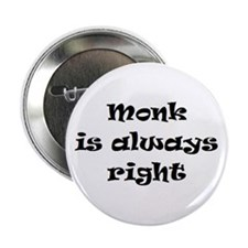 "monk always right 2.25"" Button"