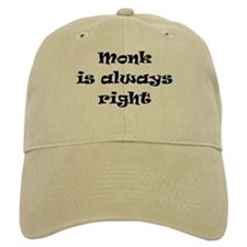 monk always right Baseball Cap