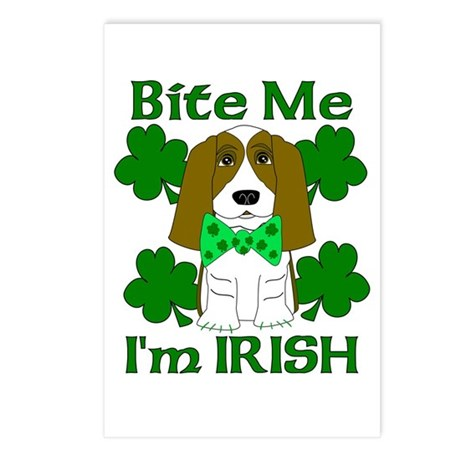 Bite Me I'm Irish Postcards (Package of 8)