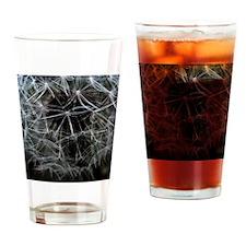 Dark Dandelion Drinking Glass