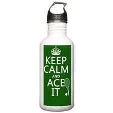 Keep Calm and Ace It Sports Water Bottle