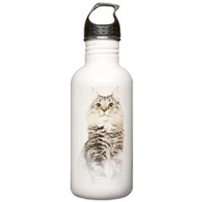 Norwegian Forest Cat  Water Bottle