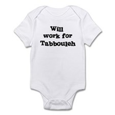 Will work for Tabbouleh Infant Bodysuit