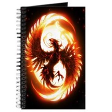 Ipad Mini red phoenix Journal