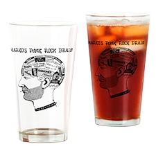 PRJB Phrenology Head Drinking Glass
