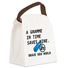 Brave New World - Gramme In Time Canvas Lunch Bag