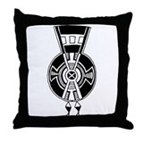 Dakota Souix-2 Motif Throw Pillow